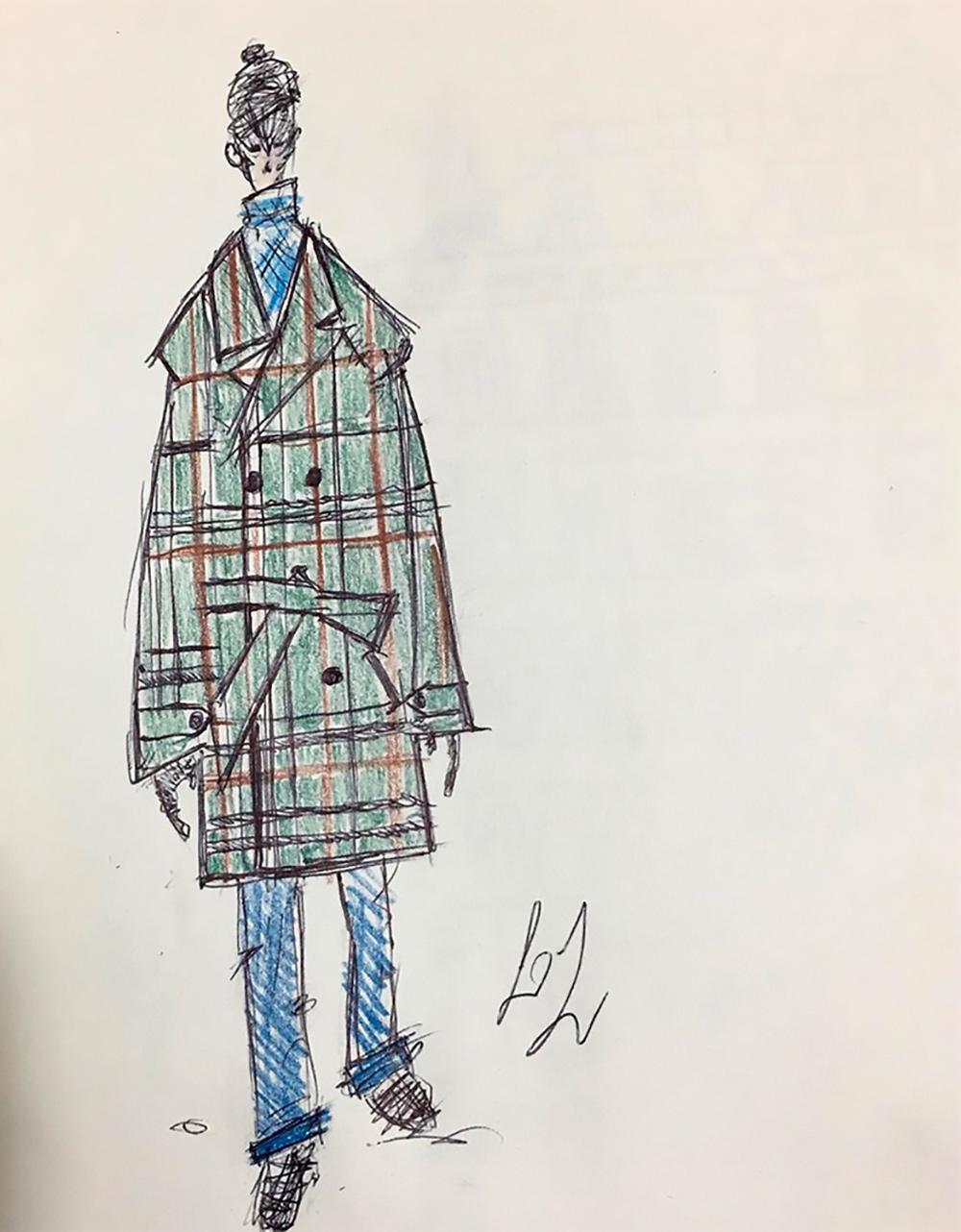 Caleido intervista Luca Larenza fashion designer